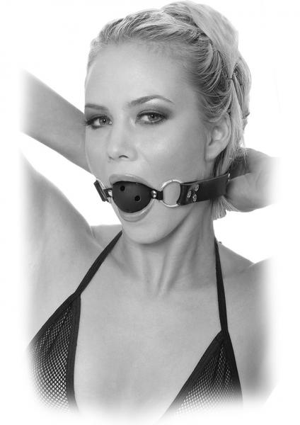 Fetish Fantasy Breathable Ball Gag Black Limited Edition