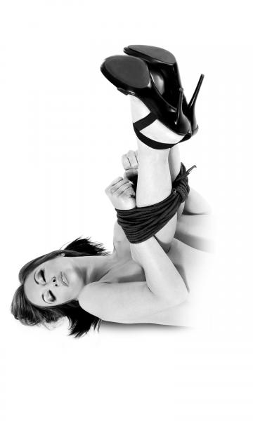 Fetish Fantasy Bondage Rope Black Limited Edition