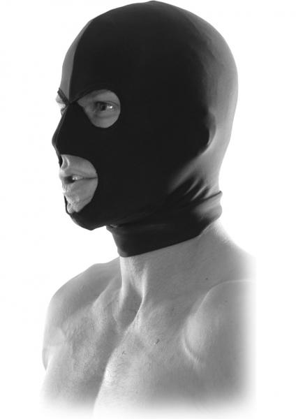 Fetish Fantasy Spandex Hood Black Limited Edition