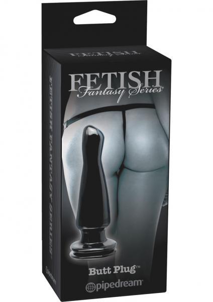 Fetish Fantasy Butt Plug Black Limited Edition