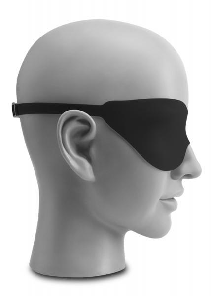 Silicone Fantasy Love Mask Black