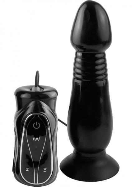Anal Fantasy Vibrating Thruster Black