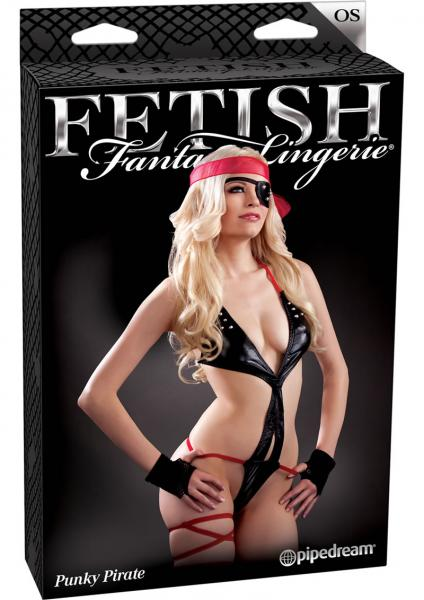 Fetish Fantasy Lingerie Punky Pirate One Size