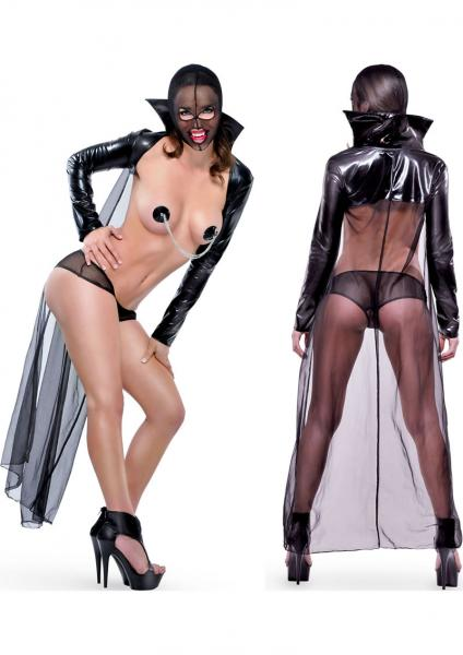 Fetish Fantasy Lingerie Twilight Night Costume One Size Black