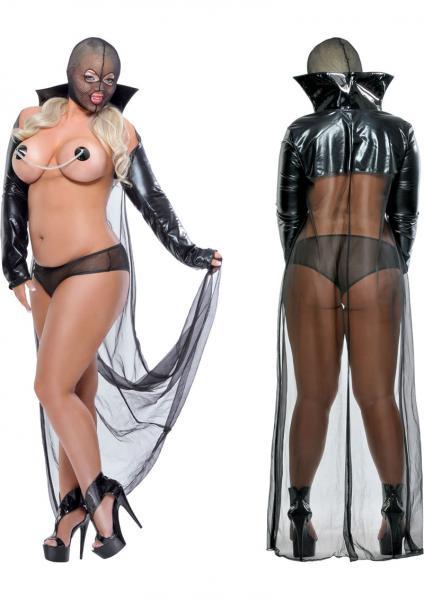 Fetish Fantasy Lingerie Twilight Night Costume Queen Black