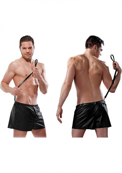 Fetish Fantasy Lingerie Male Obedience Boxer Black Small Medium
