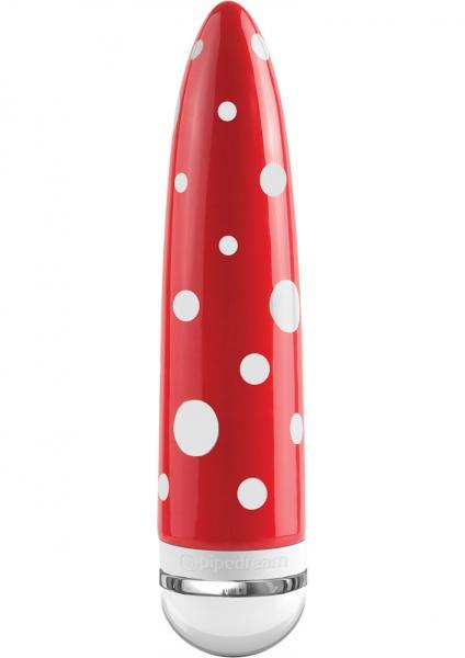 Ceramix No 9 Ceramic Vibrator Red/White 7 Inch