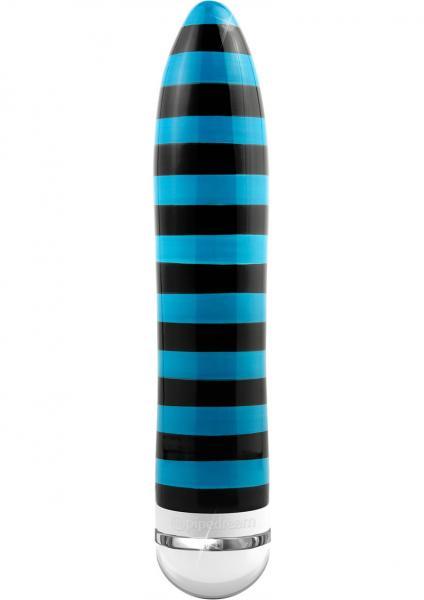 Ceramix No 10 Ceramic Vibrator Black/Blue 8 Inch