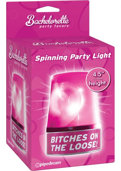 Bachelorette Party Favors Spinning Party Light Pink 4.5 Inch