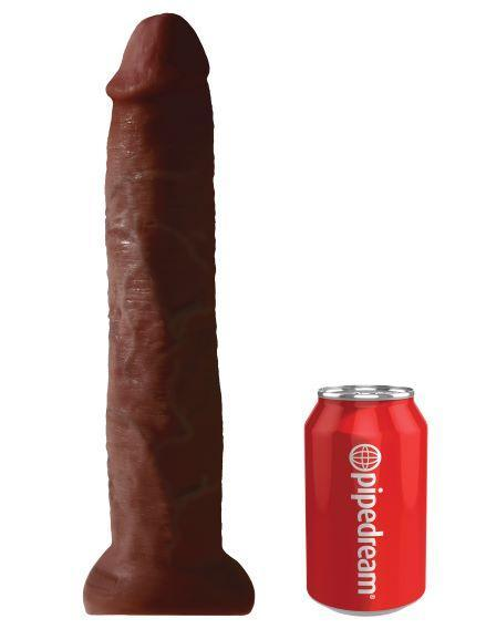 King Cock 13 inches Cock Brown Dildo