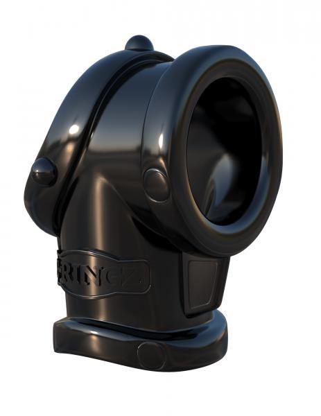 Fantasy C-Ringz Cock Pipe Ball Stretcher Black