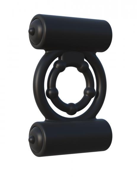 Fantasy C-Ringz Extreme Double Trouble Black Ring