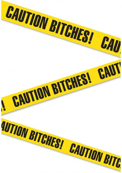 Bachelorette Party Favors Caution Bitches Tape