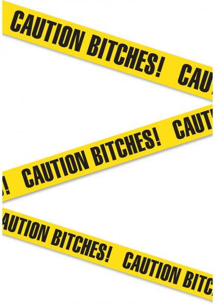 Bachelorette Party Favors Caution Bitches Tape