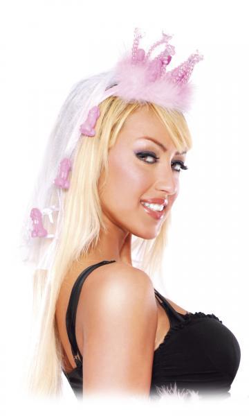 Bachelorette Party Favors Fancy Crown With Veil