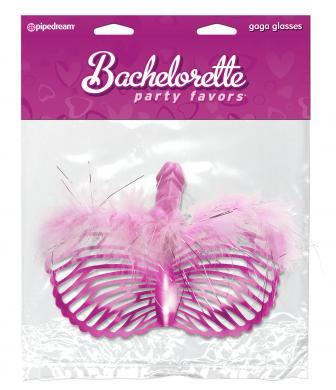 Bachelorette Party Gaga Eyeglasses Pink