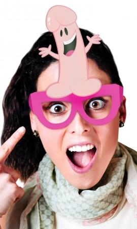 Bachelorette Party Favors Pecker Glasses 8 Pack