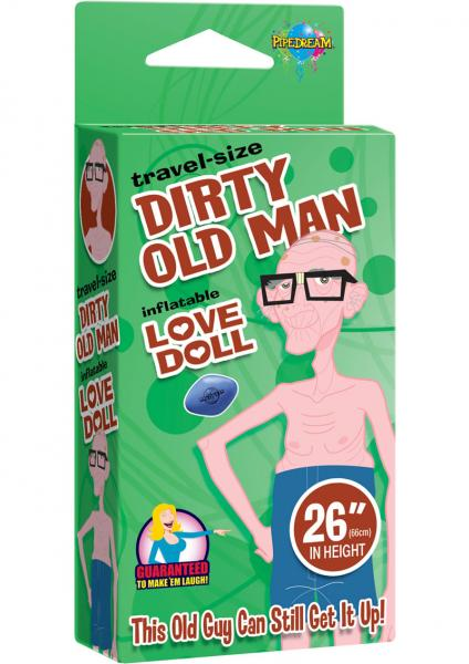 Dirty Old Man Inflatable Love Doll Travel Size