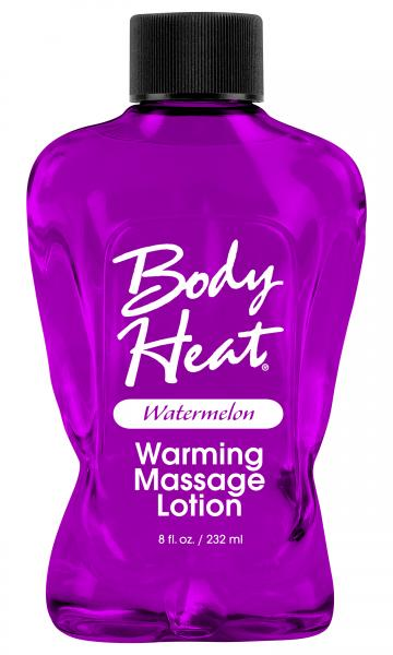 Body Heat Warming Massage Lotion Watermelon 8oz