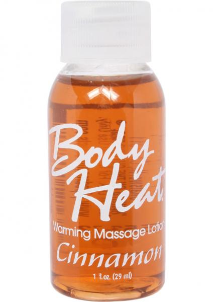 Body Heat Warming Massage Lotion Cinnamon 1oz