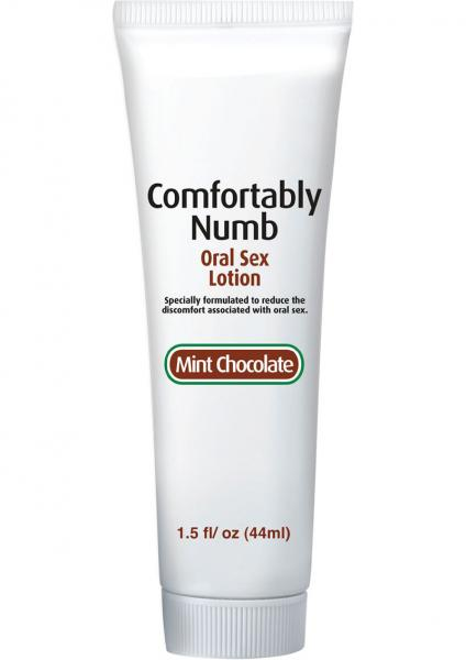 Comfortably Numb Oral Sex Lotion Mint Chocolate 1.5oz