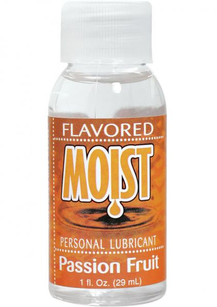 Moist Flavored Lubricant Passion Fruit 1 ounce