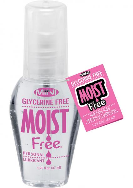 Mini Moist Glycerine Free Water Based Lubricant 1.25 Ounce
