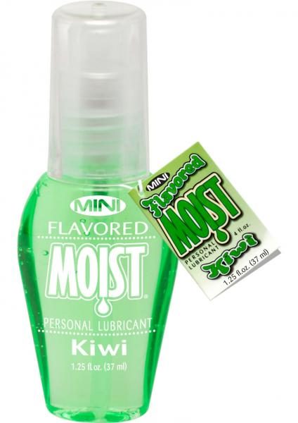 Mini Moist Flavored Lubricant Kiwi 1.25oz
