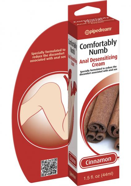Comfortably Numb Anal Desensitizing Cream Cinnamon 1.5oz