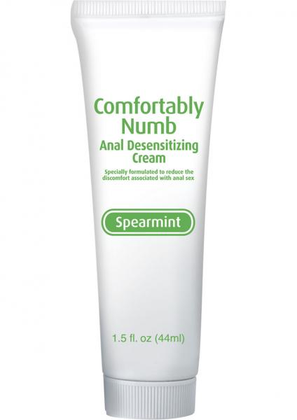 Comfortably Numb Anal Desensitizing Cream Speamint 1.5 Ounce
