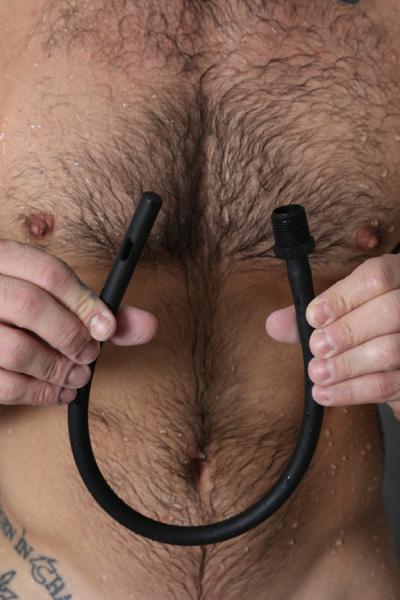 Ergoflo 20 inches India Rubber Nozzle Black