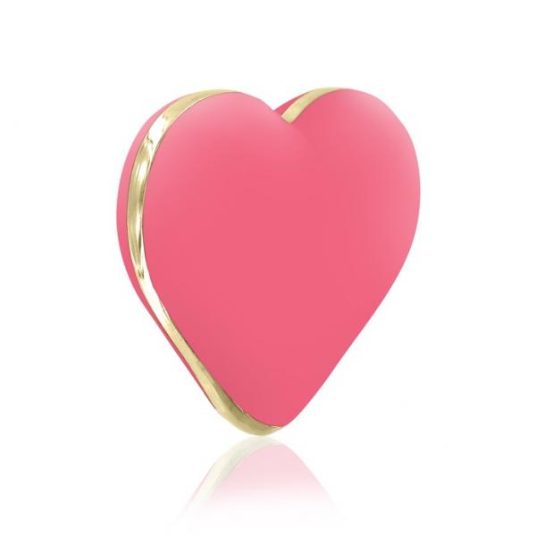 Rianne S Heart Coral Rose Pink Vibrator