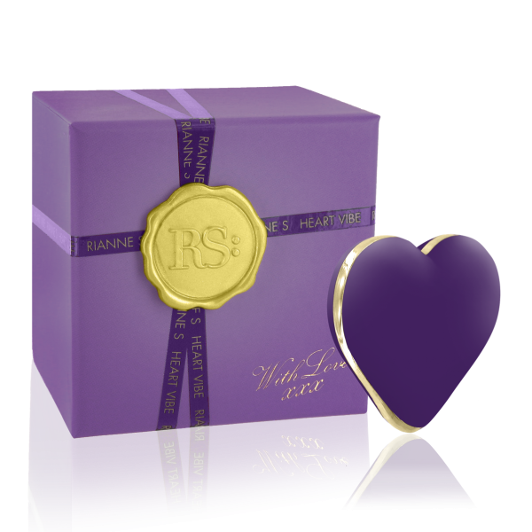 Rianne S Heart Deep Purple Vibrator