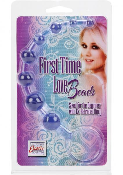 First Time Love Beads 8.25 Inch Purple