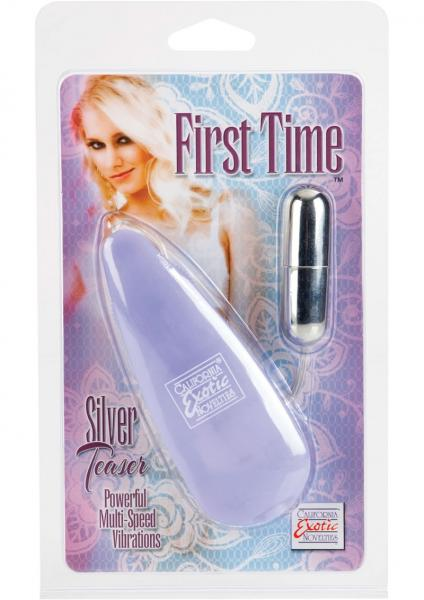 First Time Satin Teaser Remote Control Bullet Purple