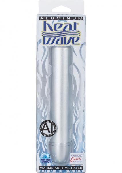 Aluminum Heat Wave Standard Teaser Warming Vibe Waterproof Silver 6.25 Inch