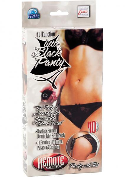 Remote Control 10-Function Little Black Panty