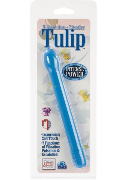 7-Function Slender Tulip Vibe - Blue