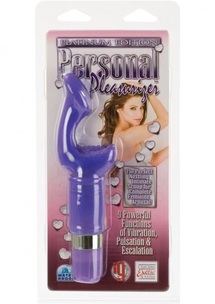 "Platinum Edition Personal Pleasurizer 2.5"" Insertable - Purple"