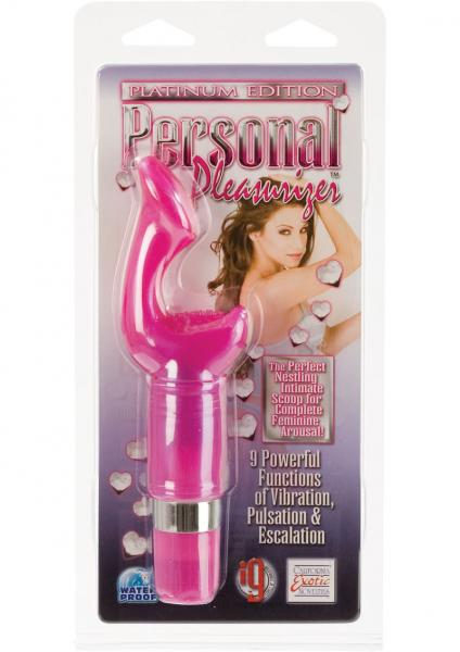 "Platinum Edition Personal Pleasurizer 2.5"" Insertable - Pink"