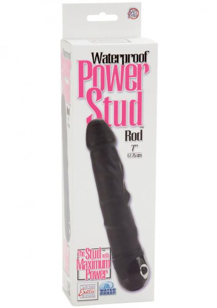 Power Stud Rod Vibrator Black