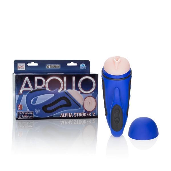 Apollo Alpha Stroker 2 Blue Vagina