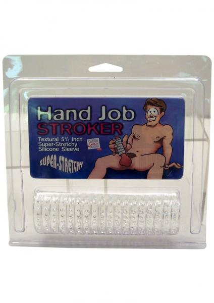HAND JOB STROKER SLEEVE CLEAR