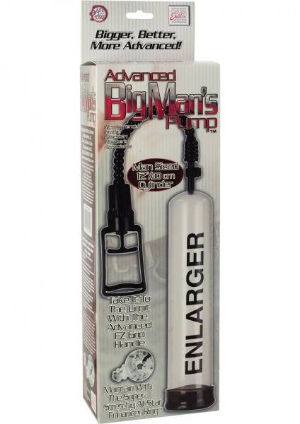 ADVANCED BIG MANS PENIS PUMP 12 INCH CLEAR