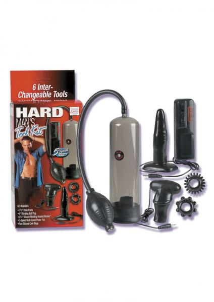 HARD MANS TOOL KIT BLACK
