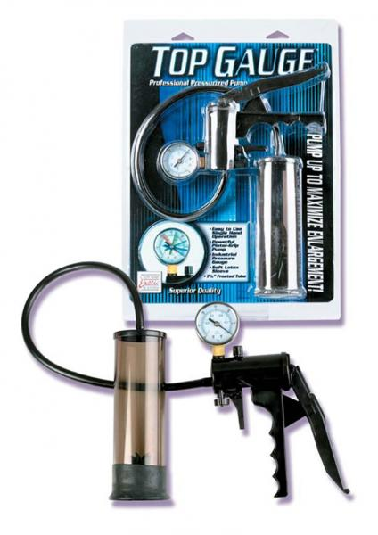 TOP GAUGE PRESSURIZED PUMP 7 INCH SMOKE