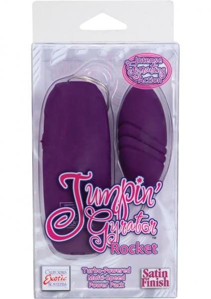 Jumpin Gyrator Rocket Purple Egg Vibrator