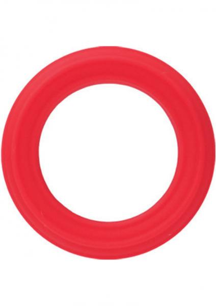Silicone Ring Caesar Red
