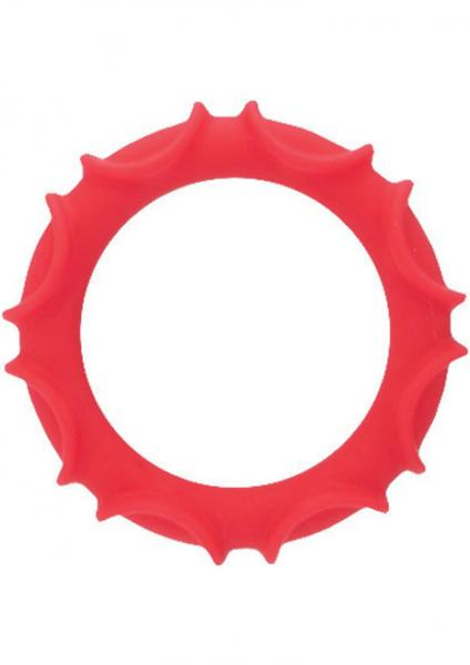 Adonis Silicone Ring - Atlas Red