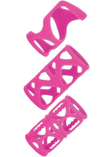 Silicone Lovers Cage - Pink